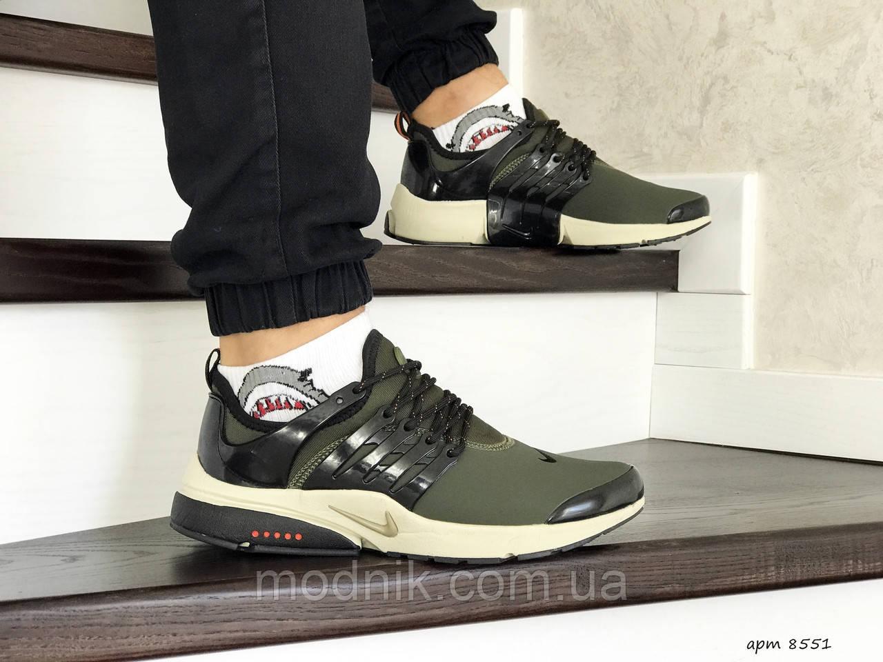 Мужские кроссовки Nike Air Presto (темно-зеленые)