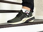 Мужские кроссовки Nike Air Presto (темно-зеленые), фото 4