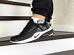 Мужские кроссовки Nike Air Presto (черно-белые), фото 2
