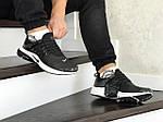Мужские кроссовки Nike Air Presto (черно-белые), фото 3