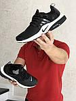 Мужские кроссовки Nike Air Presto (черно-белые), фото 4