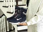 Женские зимние дутики Nike (темно-синие), фото 2