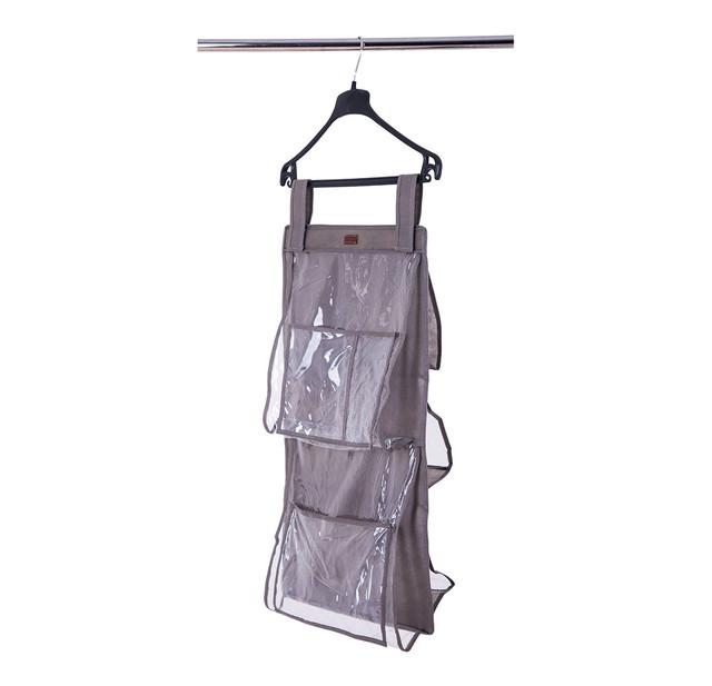 подвесной органайзер для сумок в шкаф