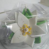 """Набір """"Лілії"""" 3 квітки (БІЛІ)"""