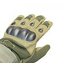 Перчатки тактические Oakley (р.XL), оливковые, фото 2