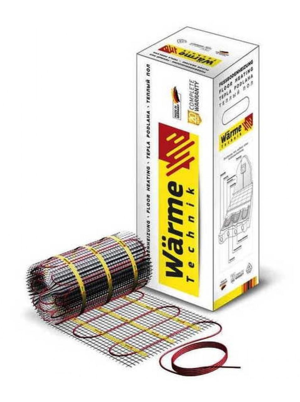Нагревательный мат Wärme Twin mat   8.0 м²  1200 W