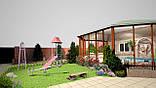 Построить Эксклюзивный Зимний Сад с Бассейном, фото 2