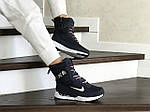Женские зимние дутики Nike (сине-белые), фото 3