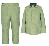 Сварочный костюм для сварщиков из брезента брюки+куртка