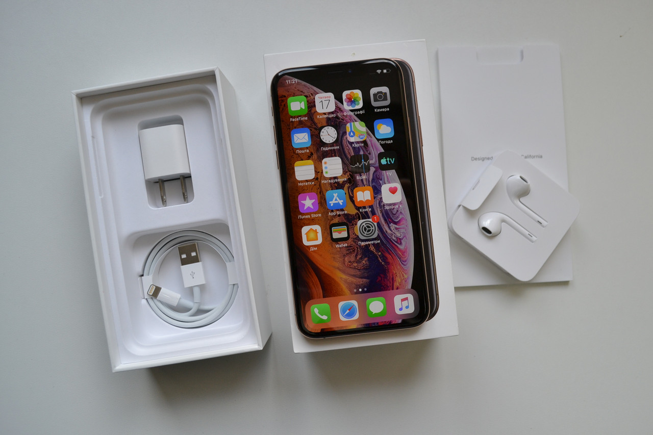 Apple Iphone XS 256Gb Gold Neverlock Оригинал!