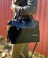 Модная большая женская сумка из натуральной замши и кожзама в 4 цветах