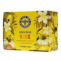 Маточное молочко для детей BLACK BEE PHARMACY JALEA REAL KIDS 20 AMPOLLAS