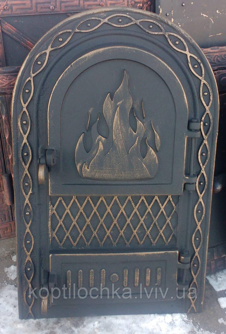 "Дверка для каміна,печі,барбекю ""Вогник"""
