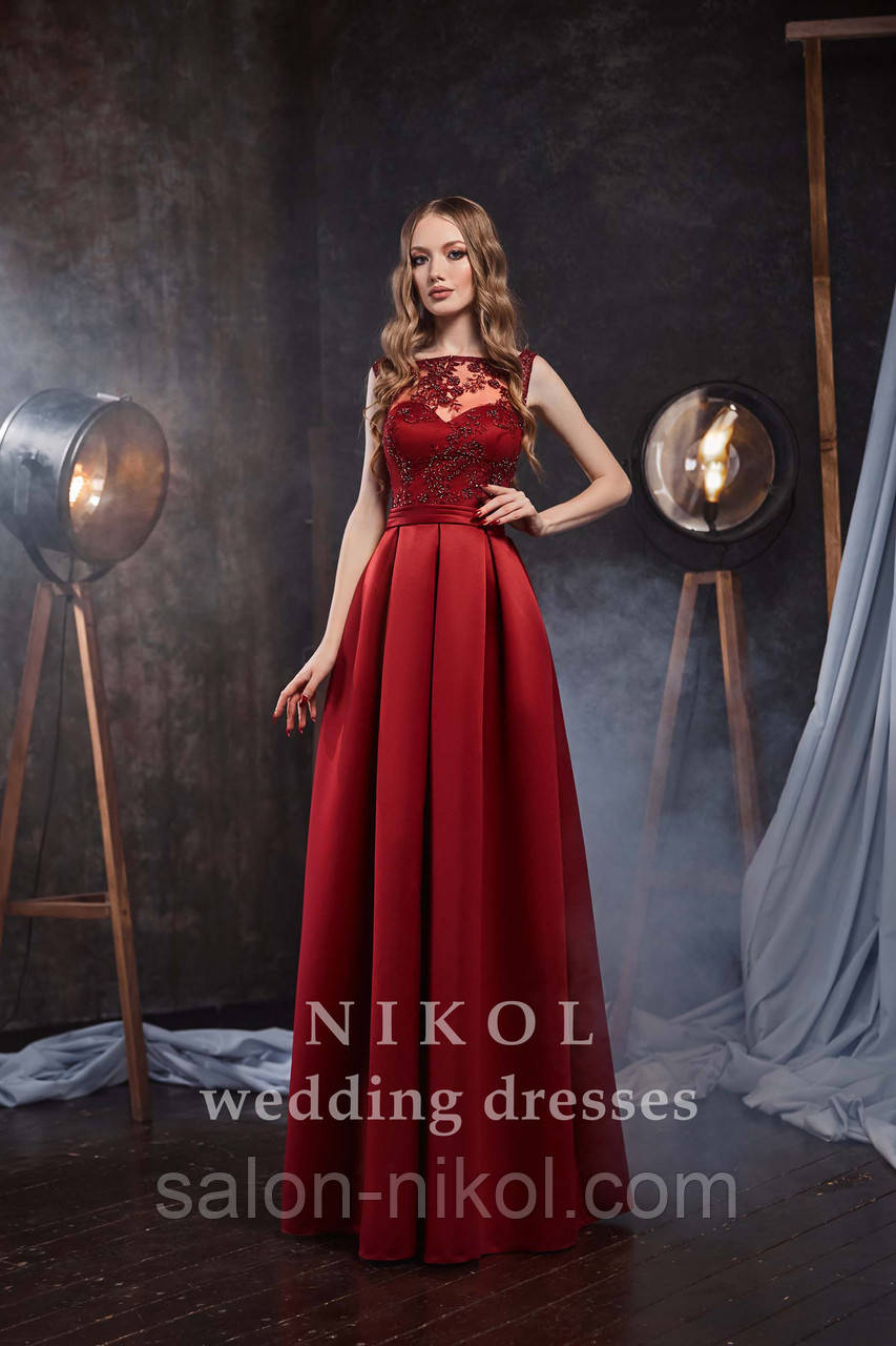 Вечернее, выпускное платье № V434