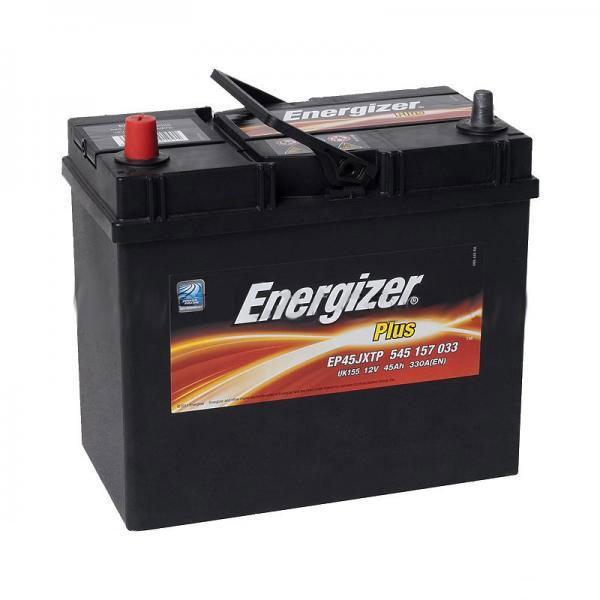 Автомобильный аккумулятор ENERGIZER 6СТ-45 Аз Plus 545 157 033 тонк. клема