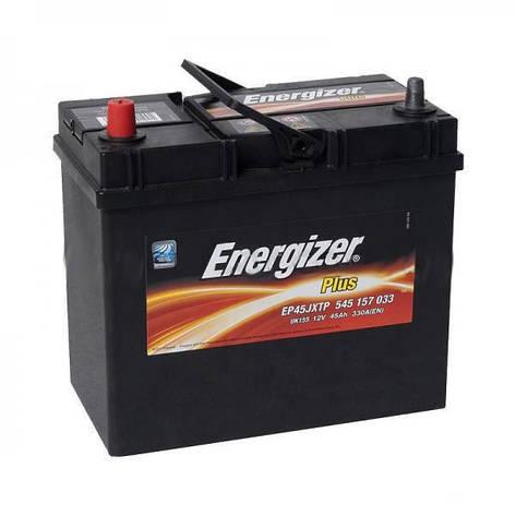 Автомобильный аккумулятор ENERGIZER 6СТ-45 Аз Plus 545 157 033 тонк. клема, фото 2