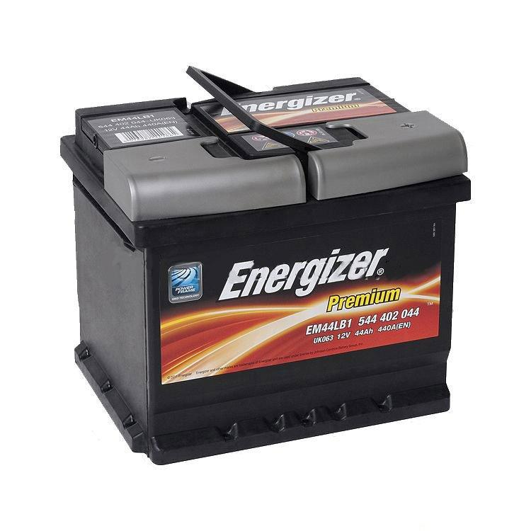 Автомобильный аккумулятор ENERGIZER 6СТ-44 АзЕ Premium 544 402 044