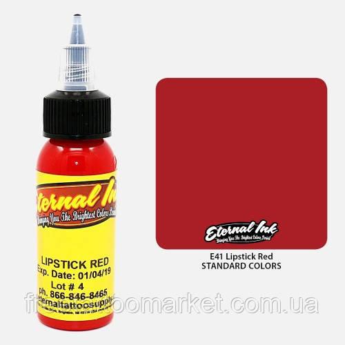 "Краска для тату Eternal Lipstick Red (Ярко-красный ""как блеск для губ"") 1 унц"
