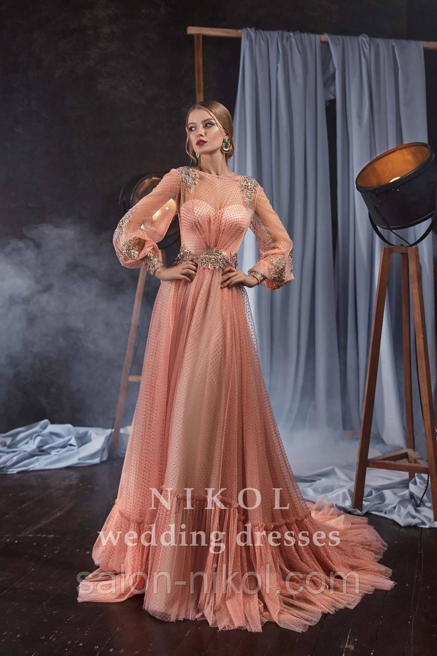 Вечернее, выпускное платье № V435