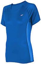 Футболка женская 4F Fitness XS blue 1=2 W (H4L19-TSDF002)