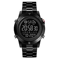Skmei 1500 ideal черные мужские спортивные смарт часы, фото 1
