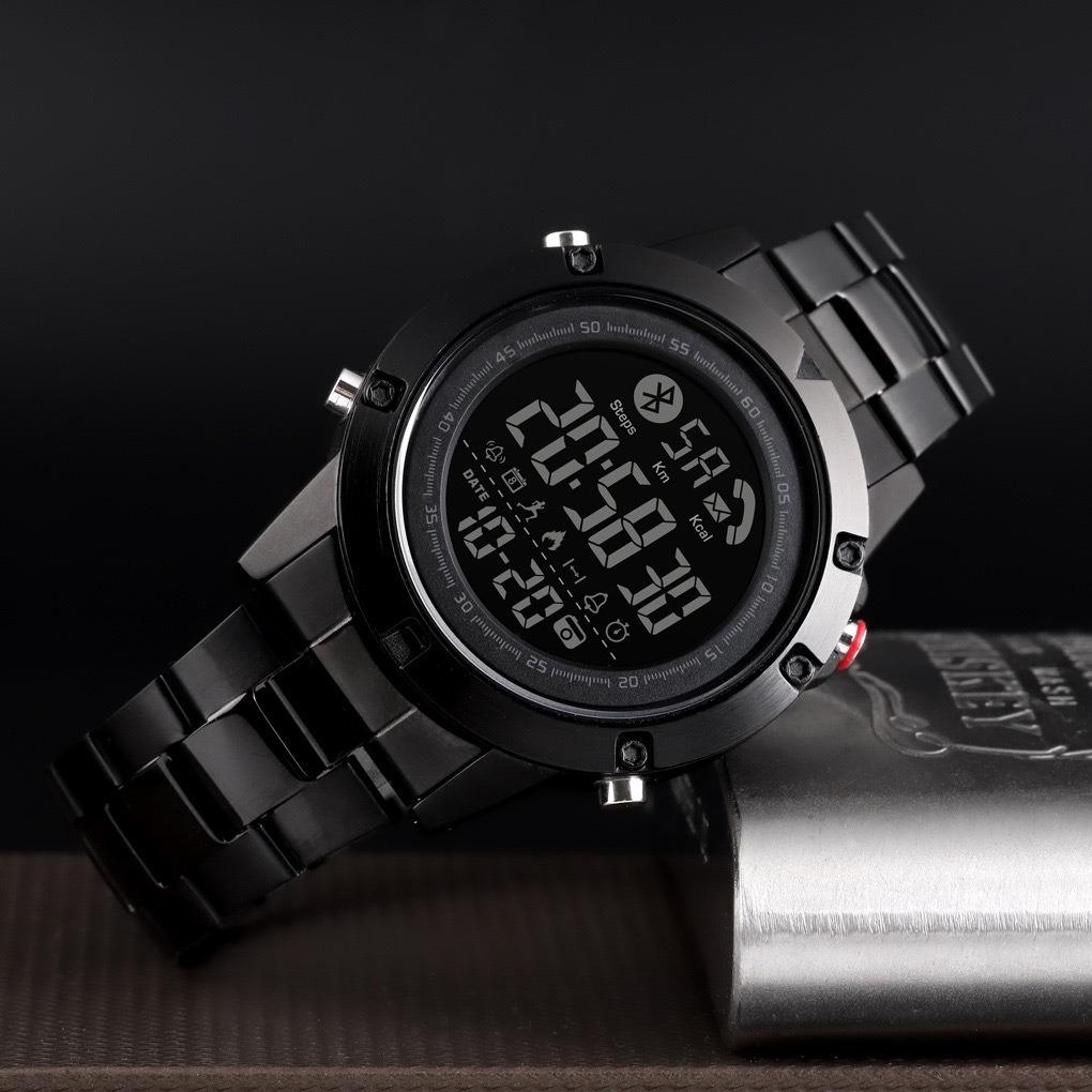 Skmei 1500 ideal черные мужские спортивные смарт часы