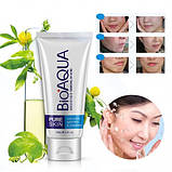 Пінка для вмивання анти акне Bioaqua Pure Skin Anti Acne-Light Print & Cleanser (100г), фото 2
