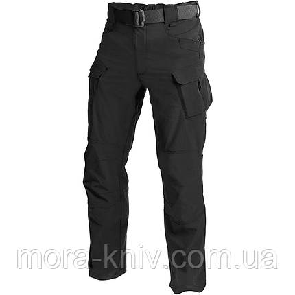 Штаны Helikon OTP Nylon Black Outdoor Tactical Pants (SP-OTP-NL-01) размер XL/regular, фото 2
