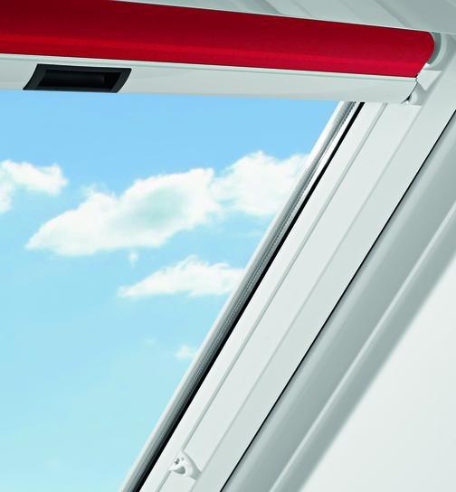 Солнцезащитные рулонные шторы Roto Standart для мансардных окон