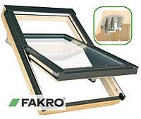 Мансардное окно Факро деревянное 66 х 98 см