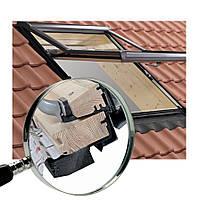 Мансардное окно Roto R7 деревянное утепленное 65х140 см