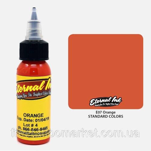 Краска для тату Eternal Orange (Оранжевый) 1 унц