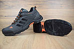 Мужские кроссовки Adidas Climaproof (серо-оранжевые), фото 6