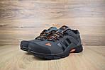 Мужские кроссовки Adidas Climaproof (серо-оранжевые), фото 9