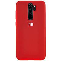 Оригинальный чехол для Xiaomi Redmi Note 8 Pro Silicone Case Full (Красный)