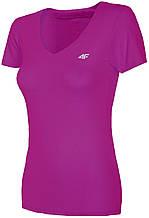 Футболка женская 4F Fitness XS pink 1=2 W (H4L19-TSDF003)