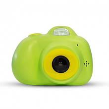 Фотокамера для детей Kids Camera c дисплеем (зеленая)