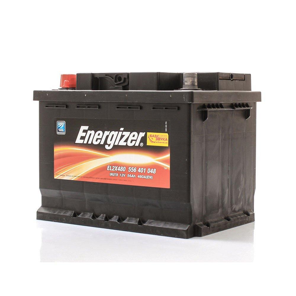 Автомобильный аккумулятор ENERGIZER 6СТ-56 Аз 556 401 048