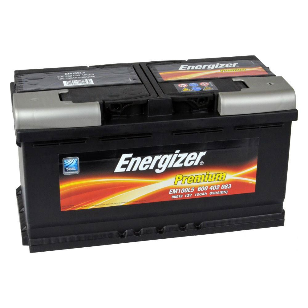 Автомобильный аккумулятор ENERGIZER 6СТ-100 АзЕ Premium 600 402 083