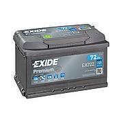 EXIDE 6СТ-72 АзЕ PREMIUM EA722 Автомобильный аккумулятор