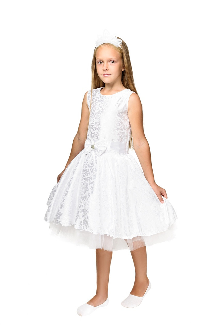"""Детский карнавальный костюм """"Снежинка"""" для девочки"""