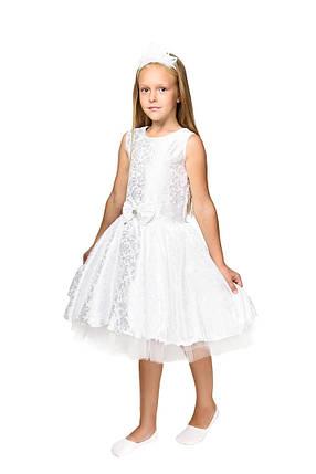 """Детский карнавальный костюм """"Снежинка"""" для девочки, фото 2"""