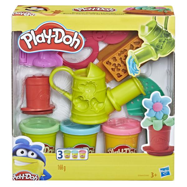 Hasbro Play Doh Плей-До Игровой набор Сад или Инструменты (E3564 GROWIN GARDEN SET)