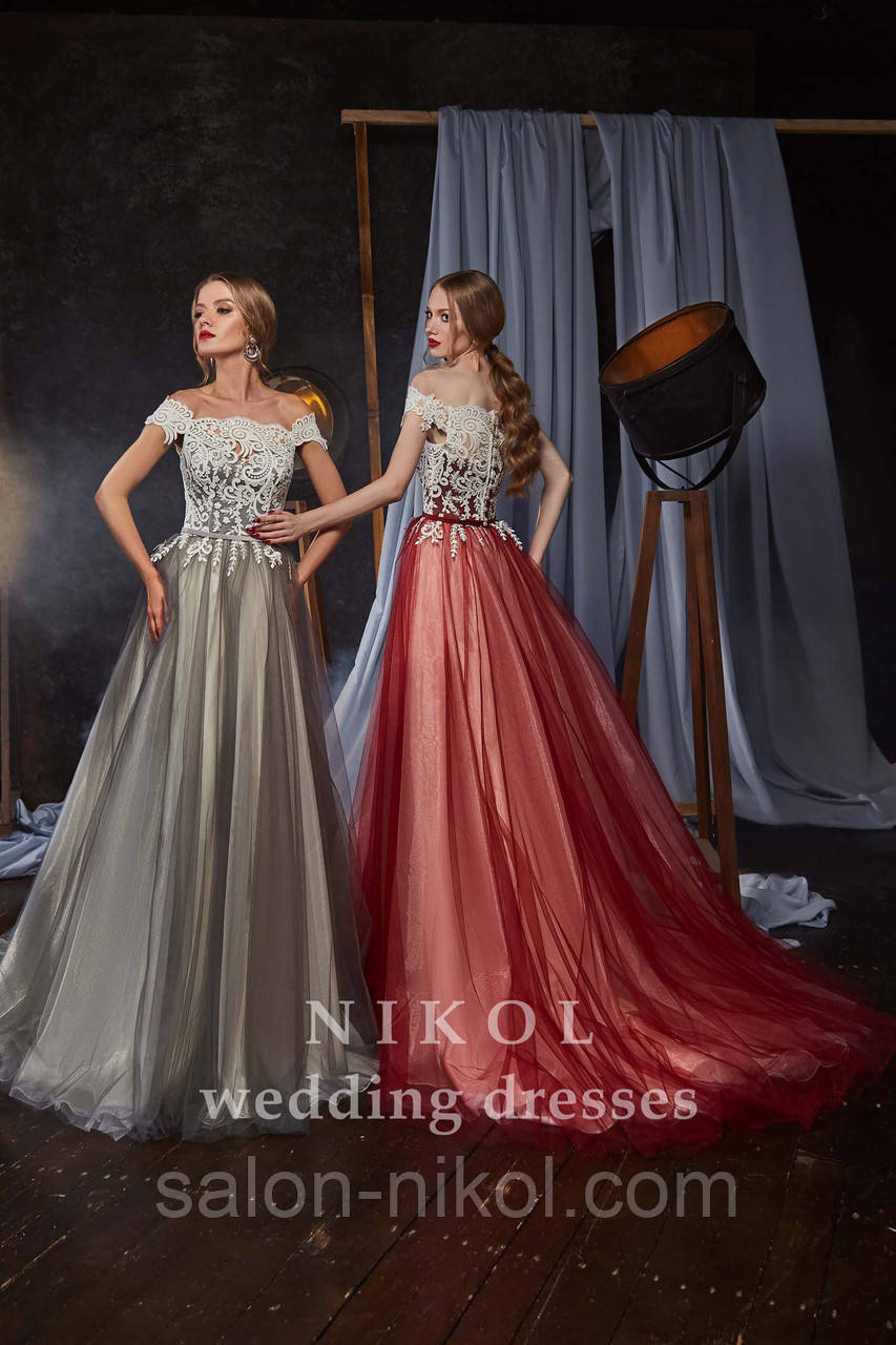 Вечернее, выпускное платье № V436