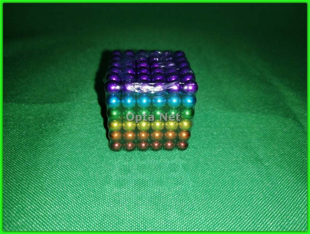 Неокуб 216 шариков 5 мм Neocube Радуга