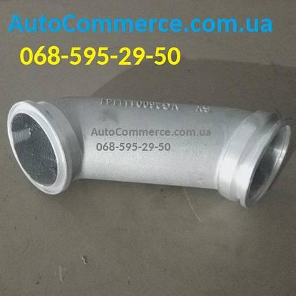 Патрубок турбины WD615 алюминиевый HOWO, ХОВО (VG2600111141), фото 2