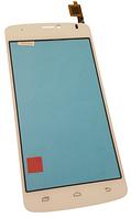 Сенсорный экран (тачскрин) для Prestigio 3502 Duo White