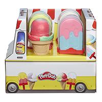 Hasbro Play Doh Плей-До Игровой набор масса для лепки Мороженое (E5349 CONES)