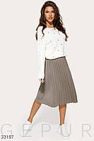 Утонченная юбка-плиссе Разные цвета
