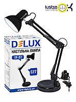 Настольная лампа для учебы Настольная лампа DELUX TF-07_E27 чёрный